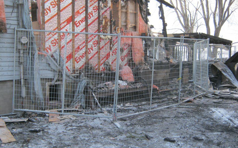 Notre service de reconstruction après sinistre
